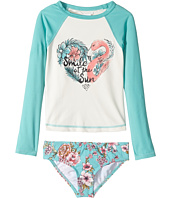 Billabong Kids - Blooming Beauty Rashguard Set (Little Kids/Big Kids)