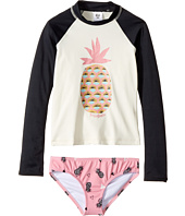 Billabong Kids - Beach Bandit Long Sleeve Rashguard Set (Little Kids/Big Kids)