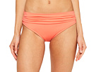 La Blanca Island Goddess Shirred Waist Hipster Bottom