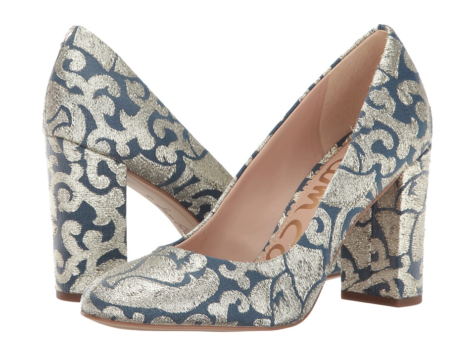Sam Edelman - Stillson (Blue Multi Geometric Tie Fabric) Womens Shoes