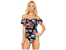 La Blanca - Your Number One Fan Off The Shoulder One-Piece