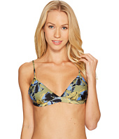 RVCA - Hotel Motel Floral Triangle Swim Bikini Top