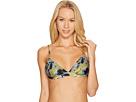 RVCA - Hotel Motel Floral Triangle Swim Bikini Top