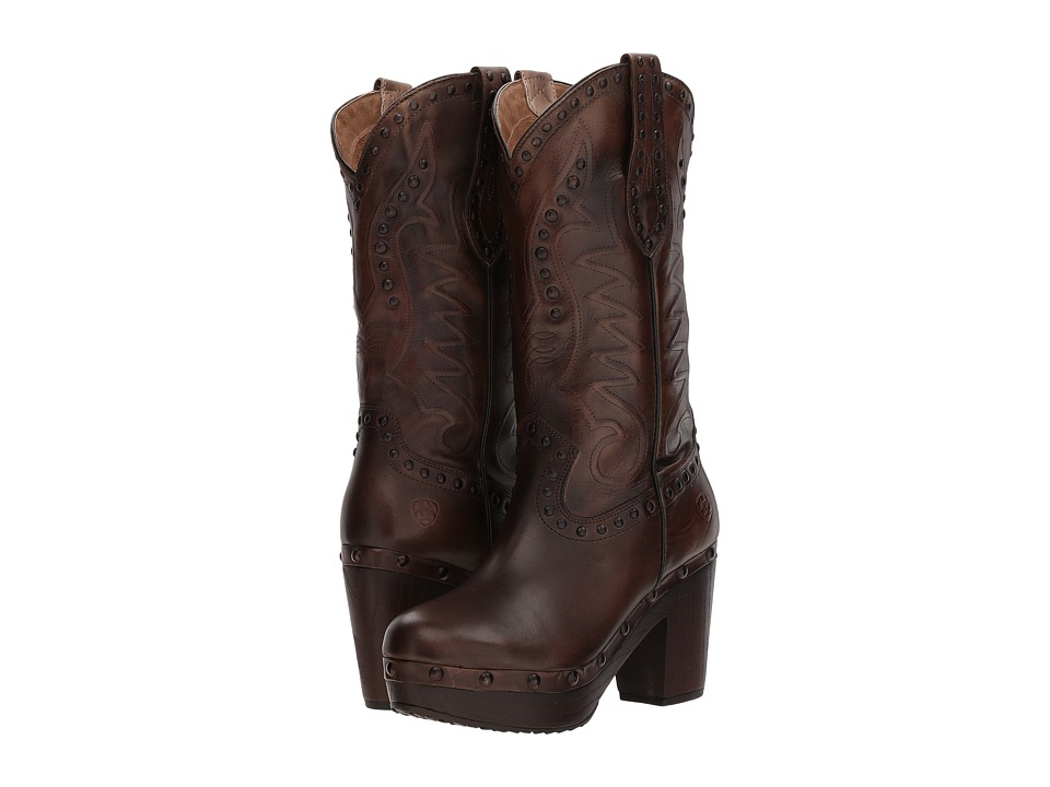 Ariat Chattanooga (Bite the Dust Brown) Cowboy Boots