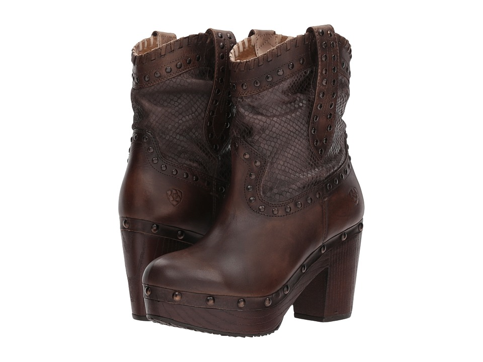 Ariat Memphis (Naturally Distressed Brown) Cowboy Boots