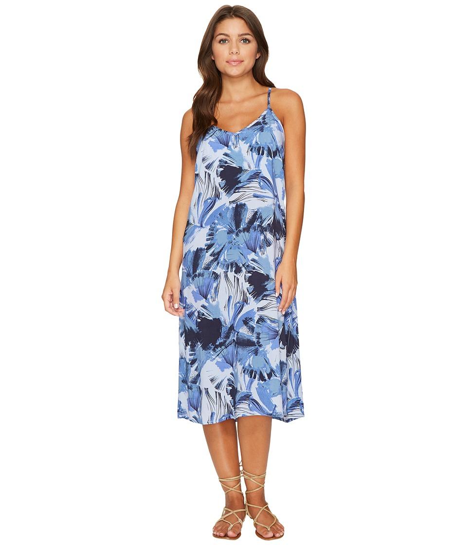 RVCA Chasing Shadows Floral Midi Dress (Horizon) Women