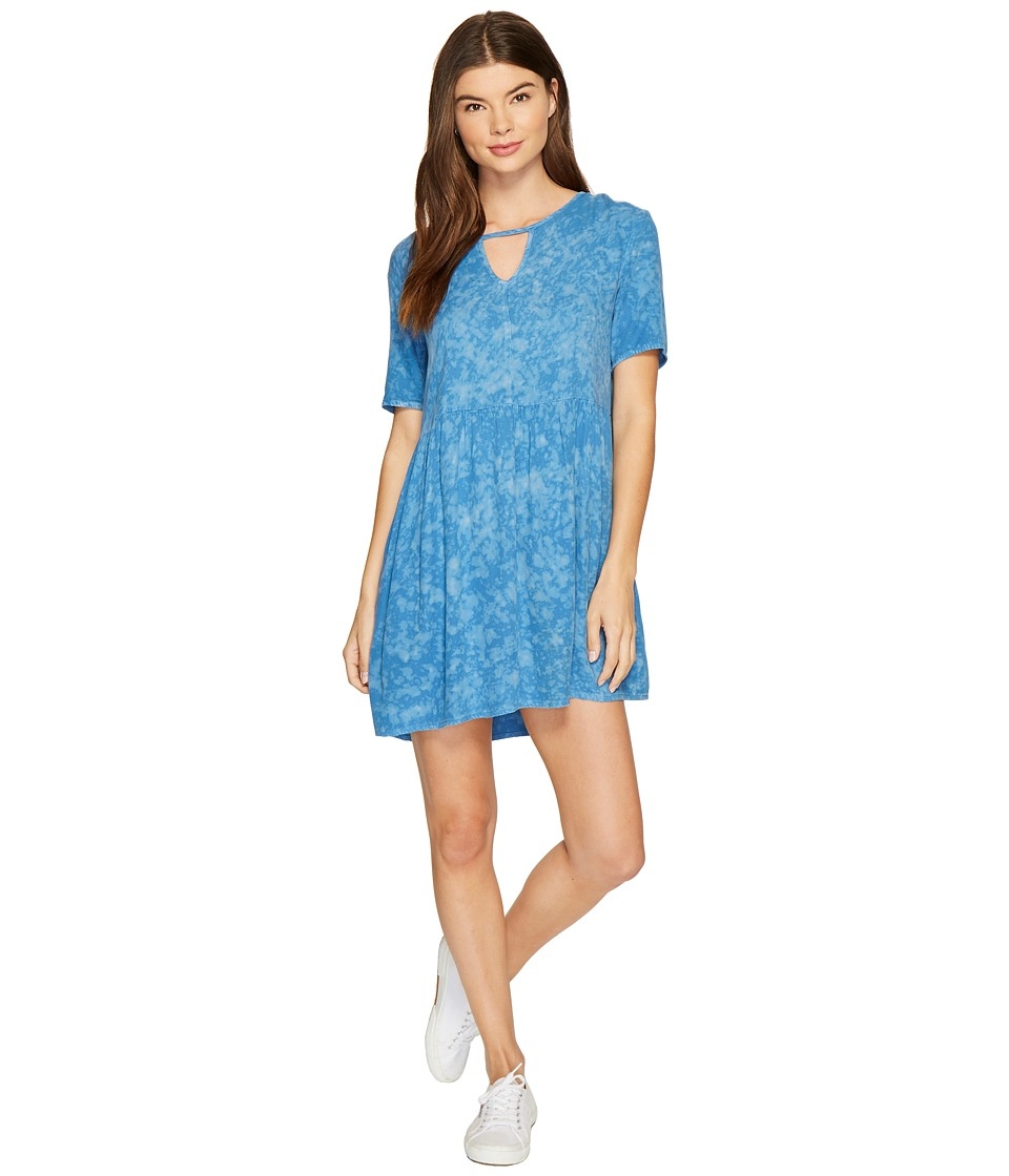 RVCA Out of Town Dress (Ace Blue) Women