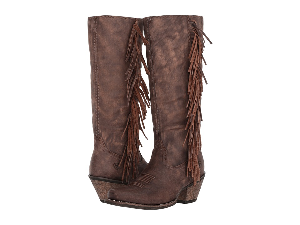 Ariat Leyton (Tack Room Chocolate) Cowboy Boots