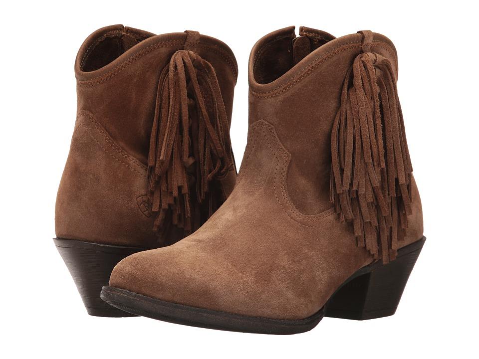 Ariat Duchess (Dirty Tan Suede) Cowboy Boots