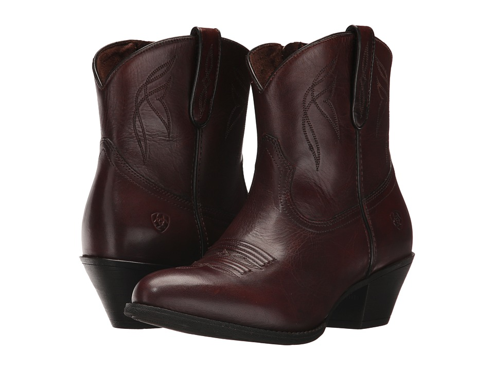 Ariat Darlin (Naturally Dark Brown) Cowboy Boots