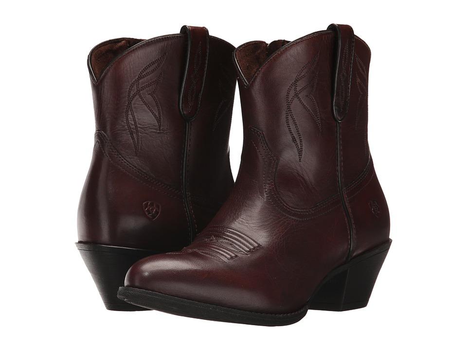 Ariat Darlin (Naturally Dark Brown) Cowboy Boots