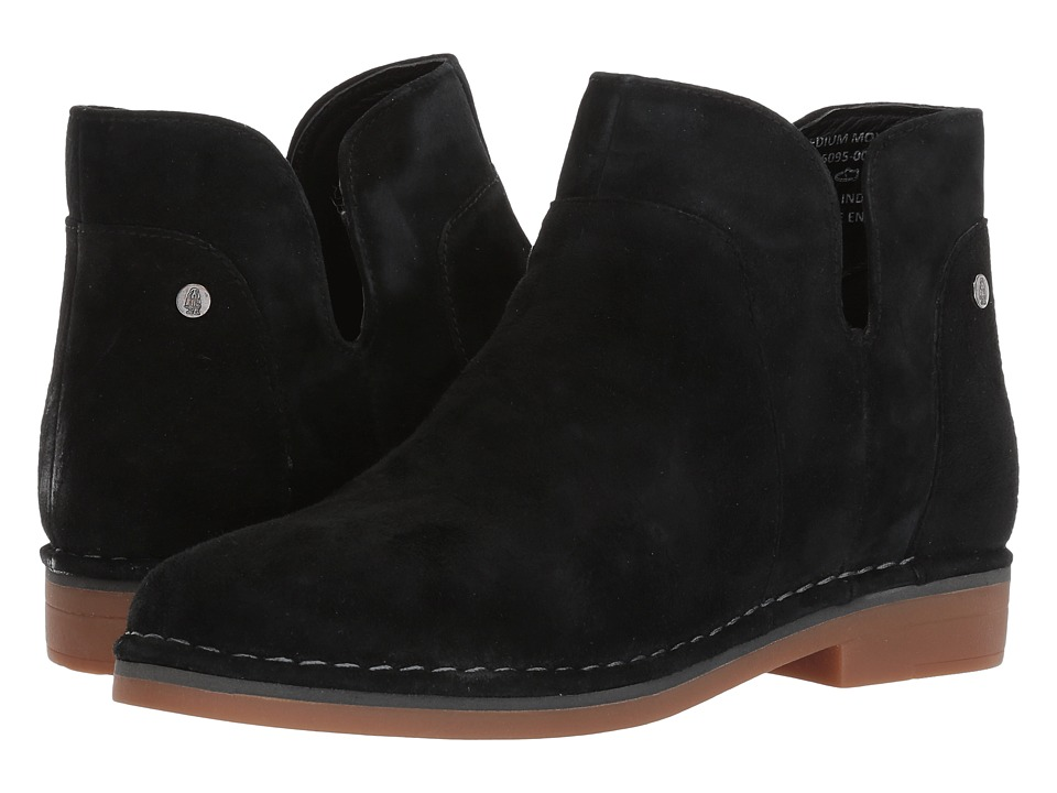 Hush Puppies Claudia Catelyn (Black Suede) Women