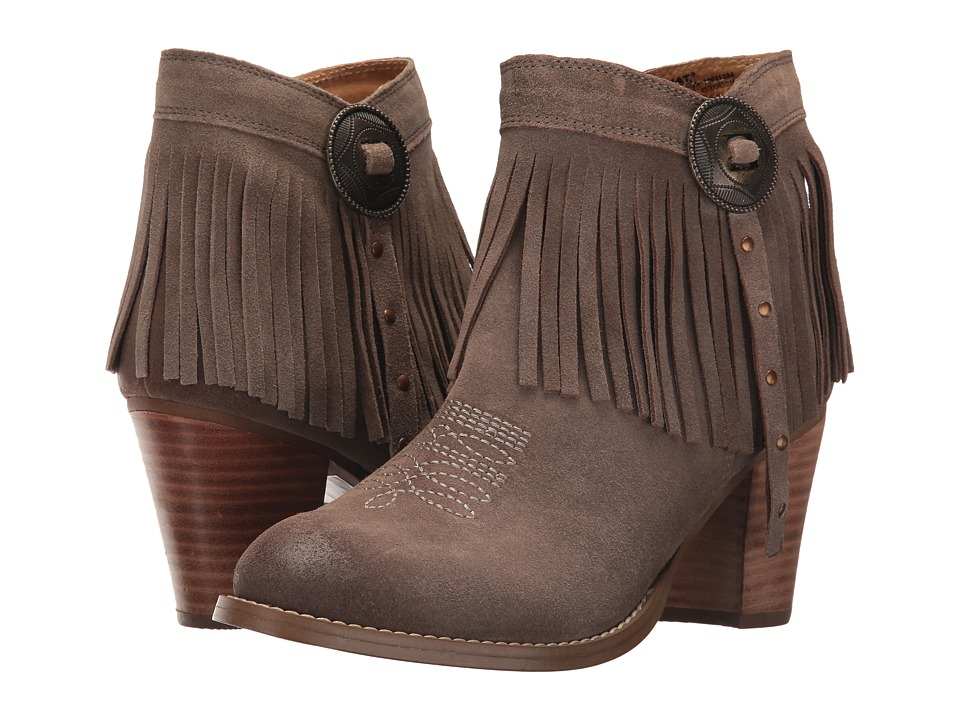 Ariat Unbridled Avery (Taupe Suede) Cowboy Boots
