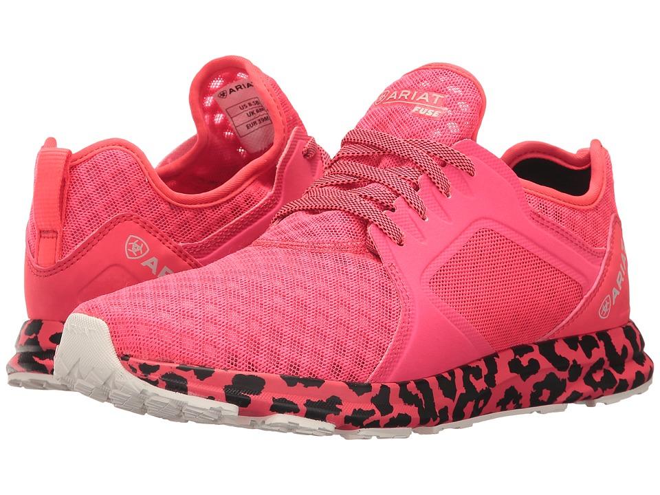 Ariat Fuse (Neon Pink Mesh) Women