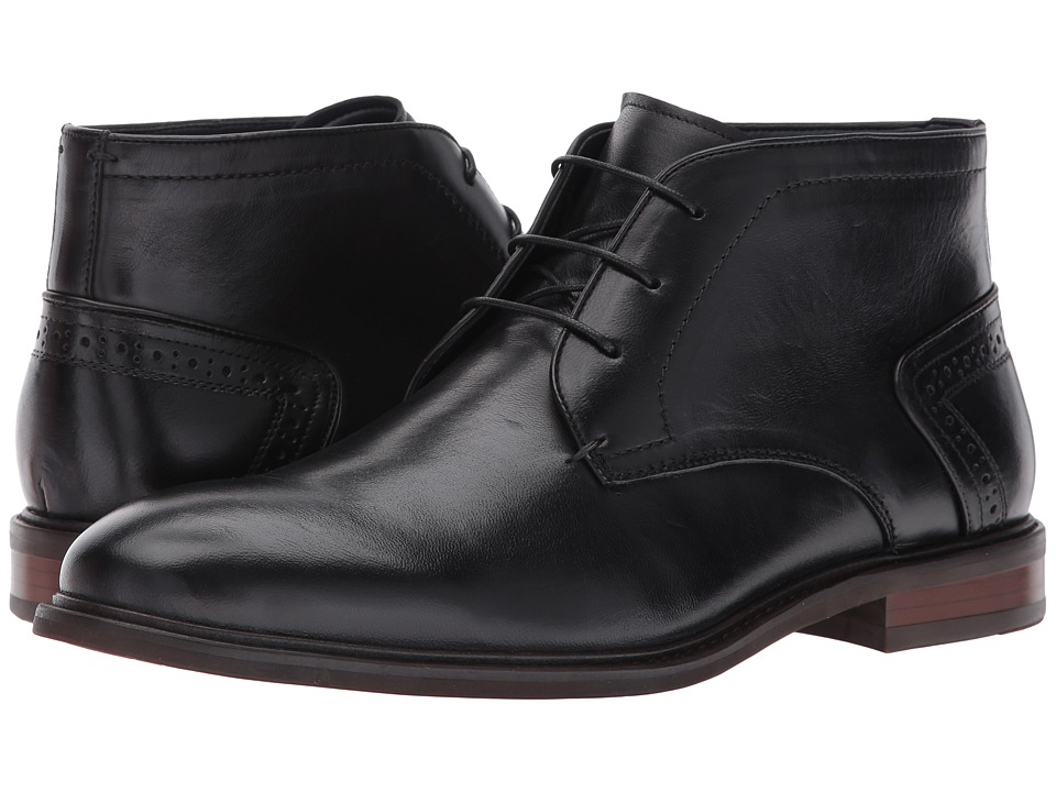 Steve Madden Bowen (Black) Men's Boots