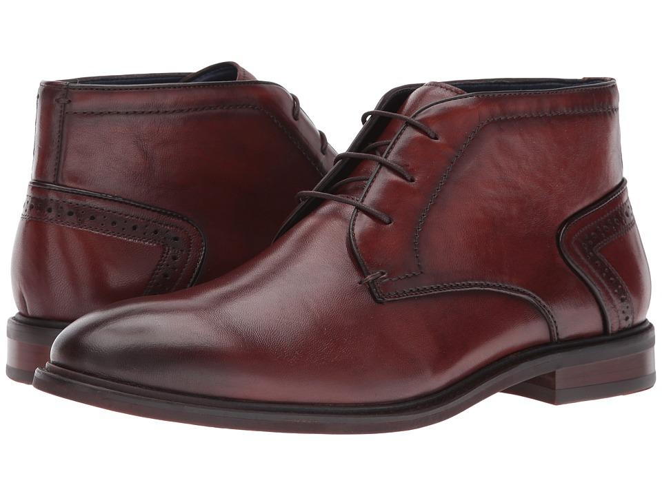 Steve Madden Bowen (Cognac) Men's Boots