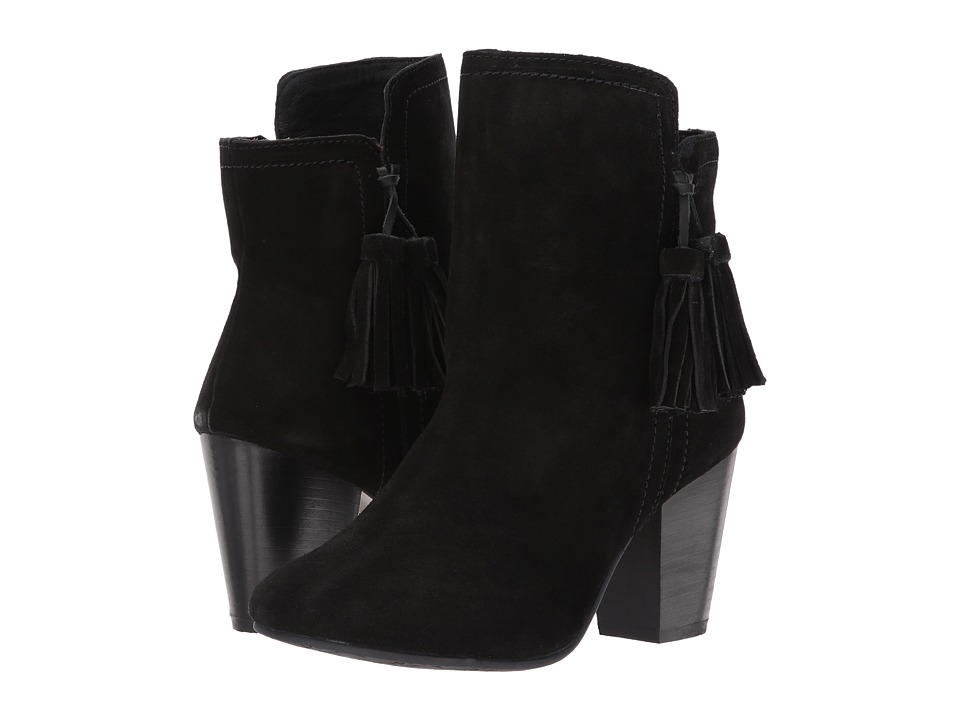 Hush Puppies - Daisee Billie (Black Suede) Women's Dress Pull-on Boots