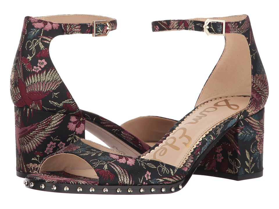 Sam Edelman - Susie 3 (Black Multi Majestic Bird Jacquard) Womens Shoes