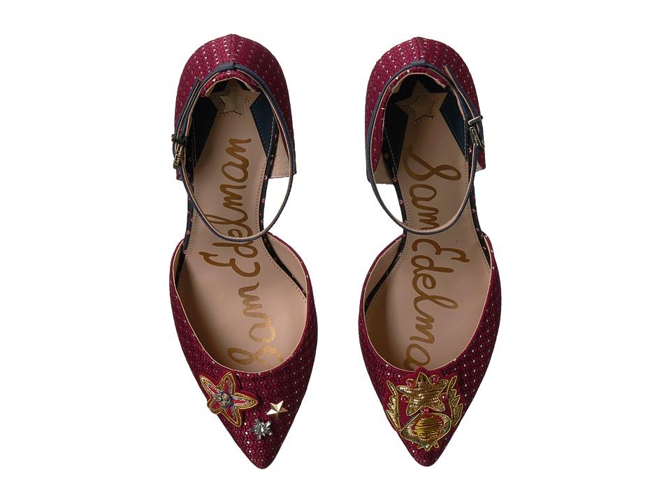 Sam Edelman - Tabby 2 (Red Multi/Blue Multi Medallion Tie Fabric/Geometric Tie Fabric) Women's Shoes