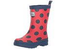 Hatley Kids - Polka Dots on Red Rain Boots (Toddler/Little Kid)