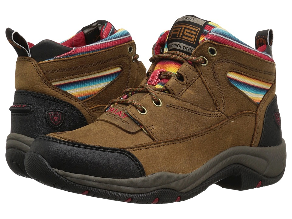 Ariat Terrain (Walnut/Serape) Women's Lace-up Boots