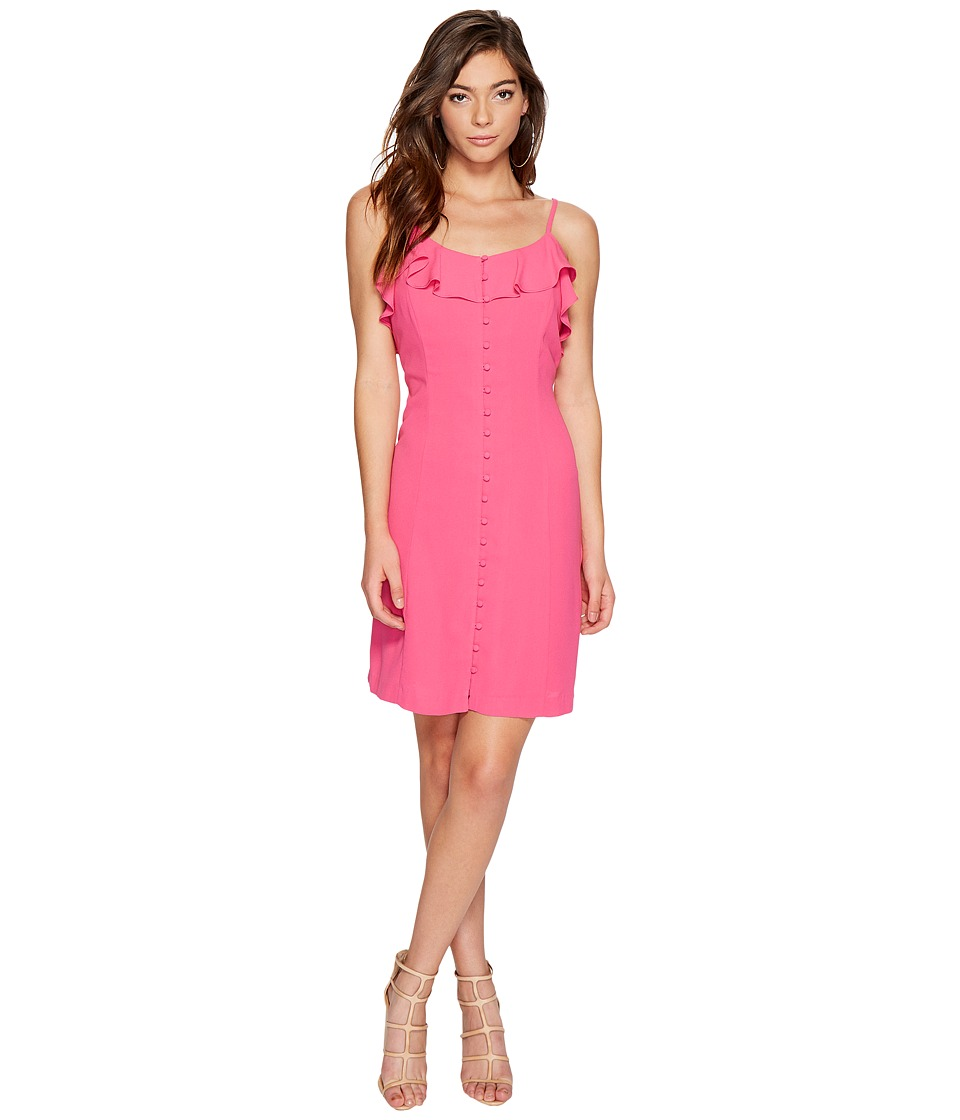 kensie Luxury Crepe Dress KS7K7972 (Party Pink) Women