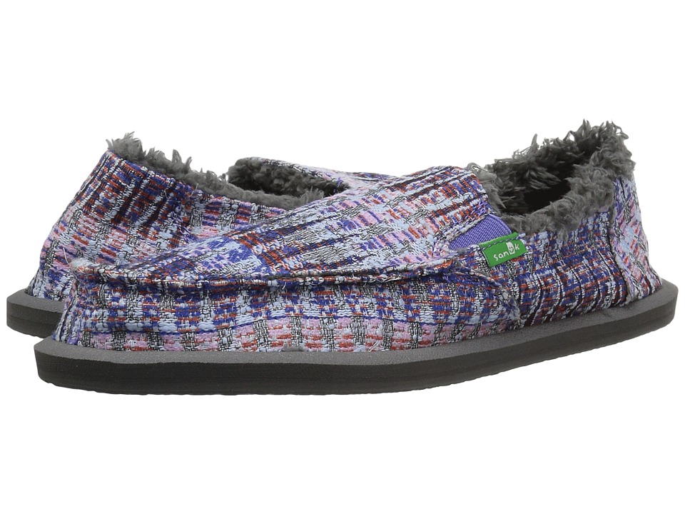 Sanuk Kids Lil Donna Ice Chill (Little Kid/Big Kid) (Dusty Peri Multi Icicle) Girl's Shoes