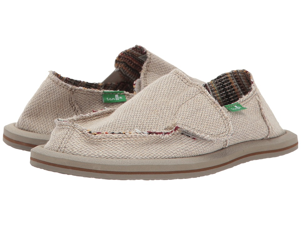 Sanuk Kids Lil Donna Hemp (Little Kid/Big Kid) (Natural) Girl's Shoes