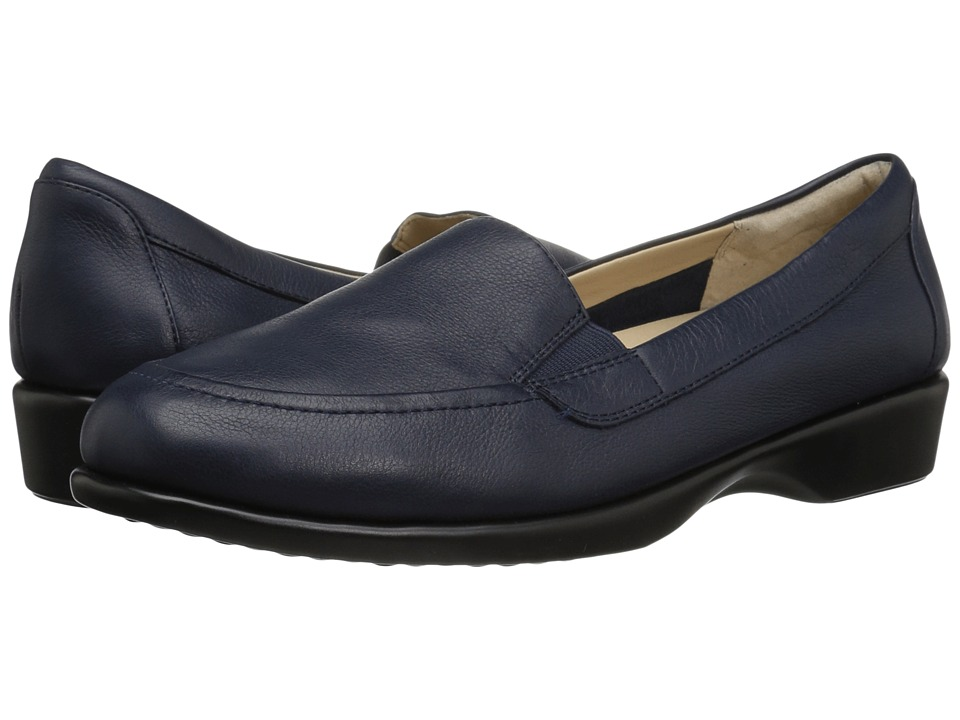 Hush Puppies Jennah Paradise (Dark Sapphire Leather) Women's Slip-on Dress Shoes