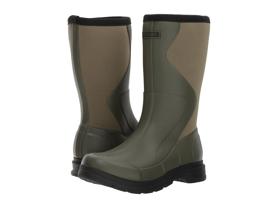 Ariat Springfield Rubber Boot (Olive Green) Women's Waterproof Boots