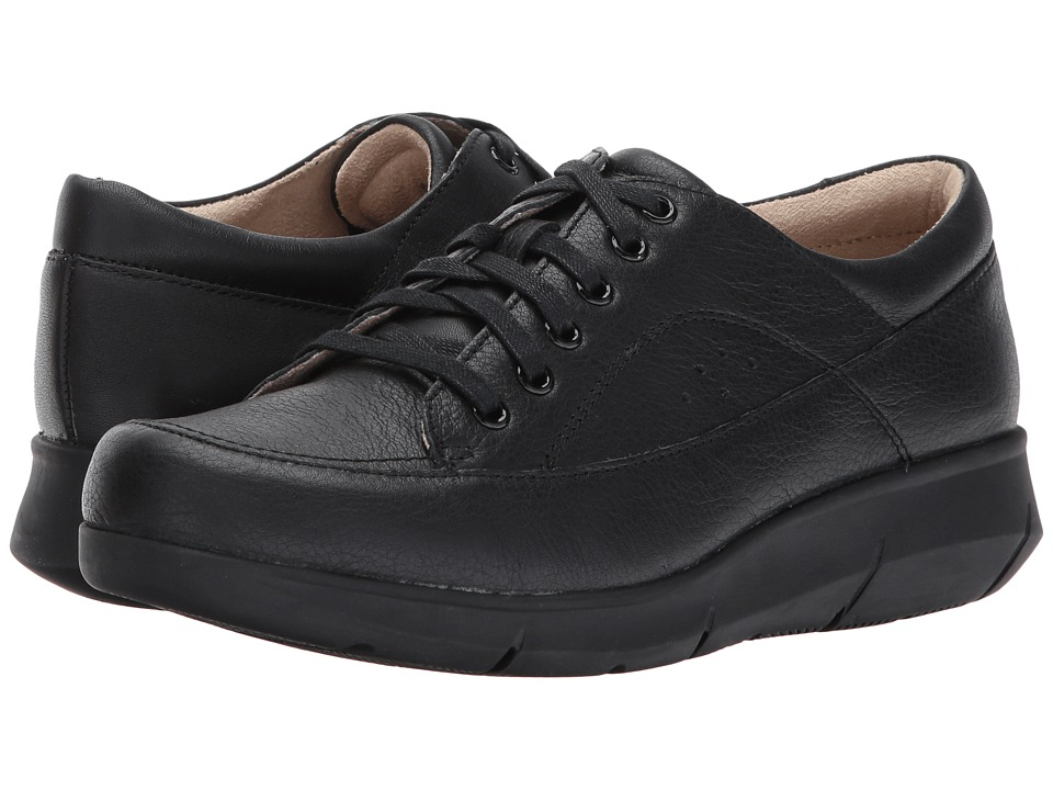 Hush Puppies Dasher Mardie (Black Leather)