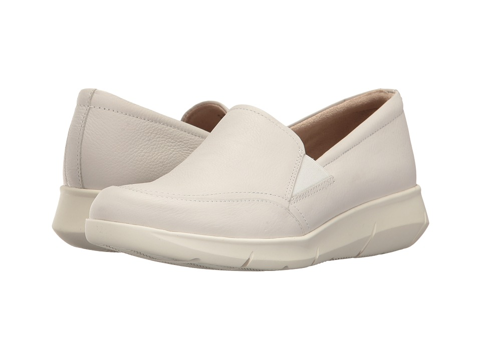 Hush Puppies Rapidly Mardie (Ivory Leather) Women's Slip-on Dress Shoes