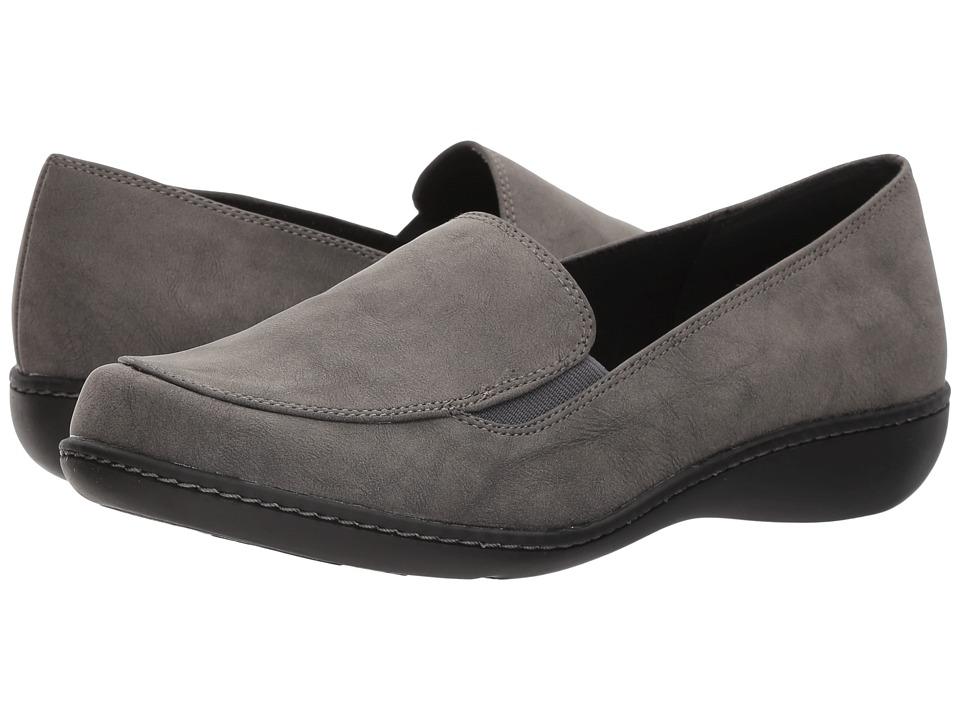 Soft Style Jaylene (Dark Grey Nubuck) Flats