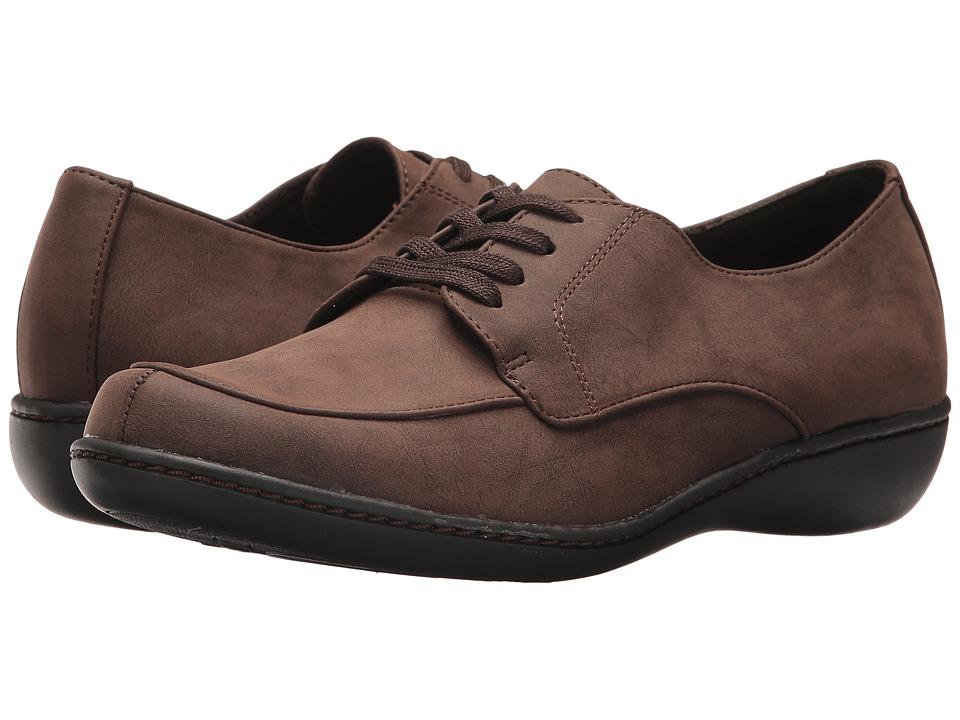 Soft Style Jazlyn (Mid Brown Nubuck)
