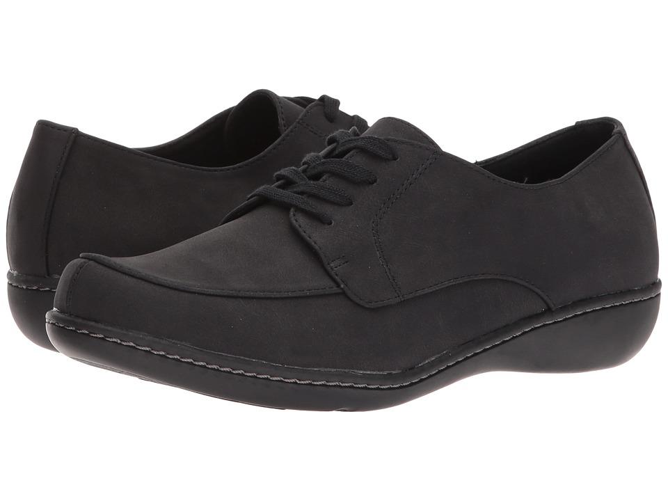 Soft Style Jazlyn (Black Nubuck)