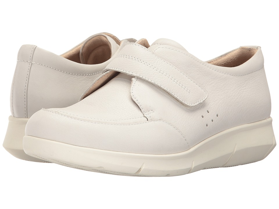 Hush Puppies Believe Mardie (Ivory Leather) Women