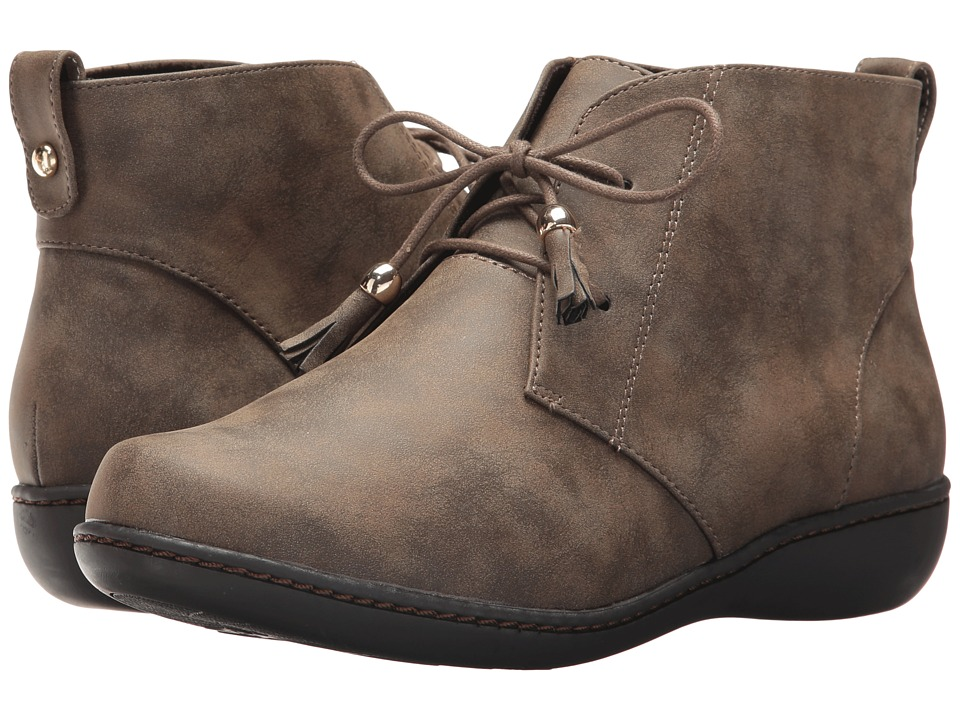 Soft Style Jinger (Taupe Evening Nubuck) Women