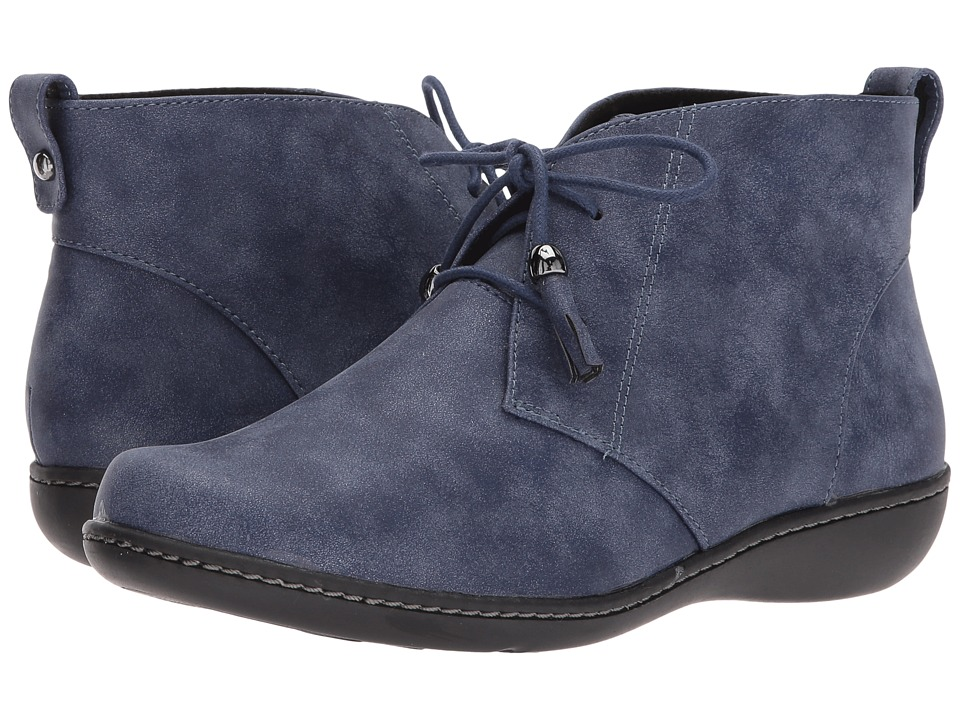 Soft Style Jinger (Navy Evening Nubuck) Women