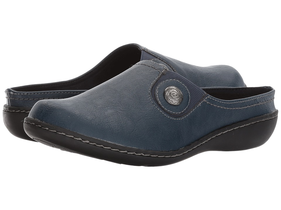 Soft Style Jamila (Navy Leather) Women