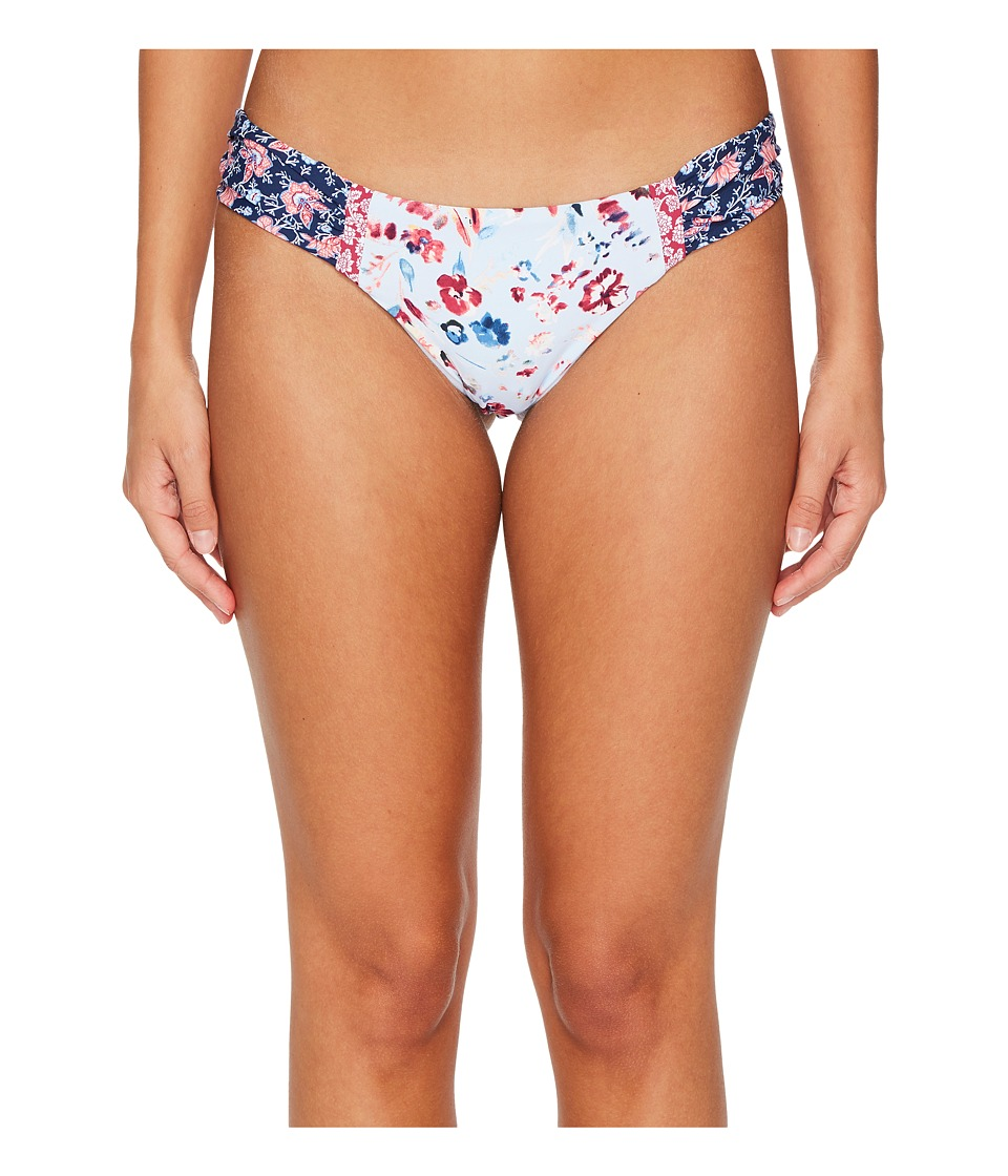 Lucky Brand Gypsy Floral Side Sash Hipster Bottom (Multi)