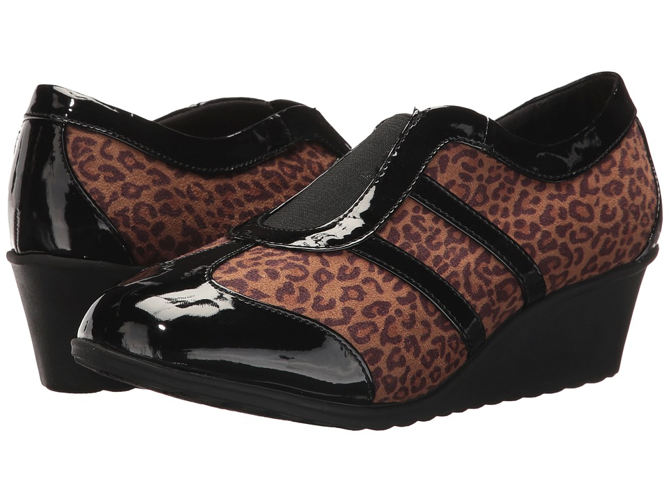 Soft Style Mallorie (Leopard/Patent) Women
