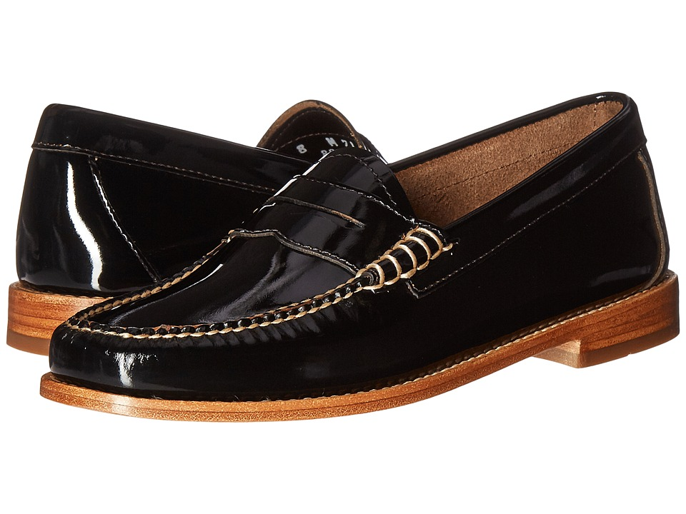 G.H. Bass & Co. Whitney Weejuns (Black Patent Leather) Women