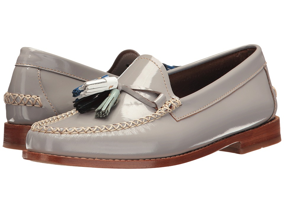 G.H. Bass & Co. Willow Weejuns (Grey Patent Leather) Women
