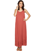 Free People - Embroidered Elaine Maxi Slip