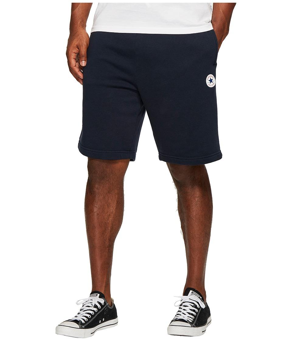 Converse Core Fleece Shorts (Obsidian) Men