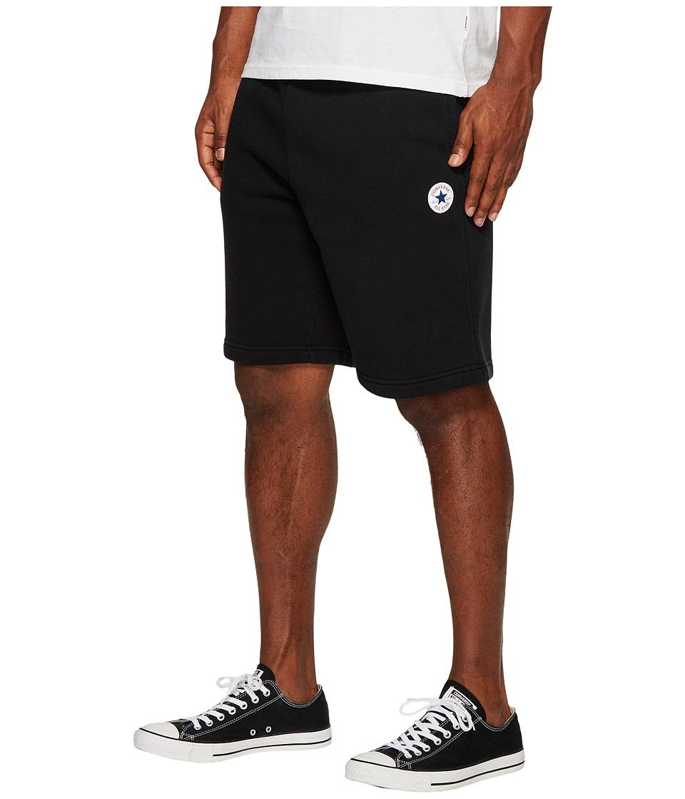 Converse Core Fleece Shorts (Black) Men