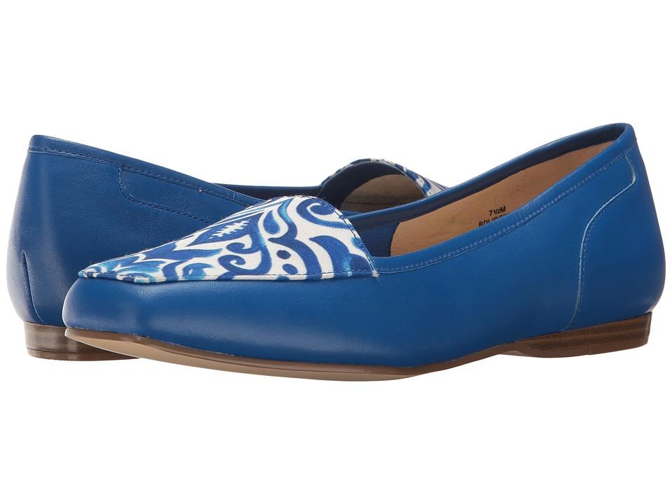 Bandolino Liberty (Azure Leather/Fabric) Women