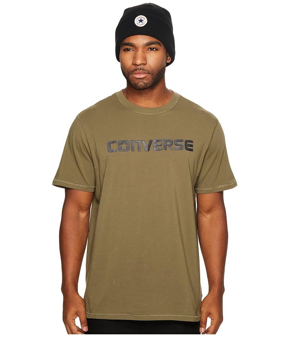 Converse Hybrid Short Sleeve Tee (Olive) Men