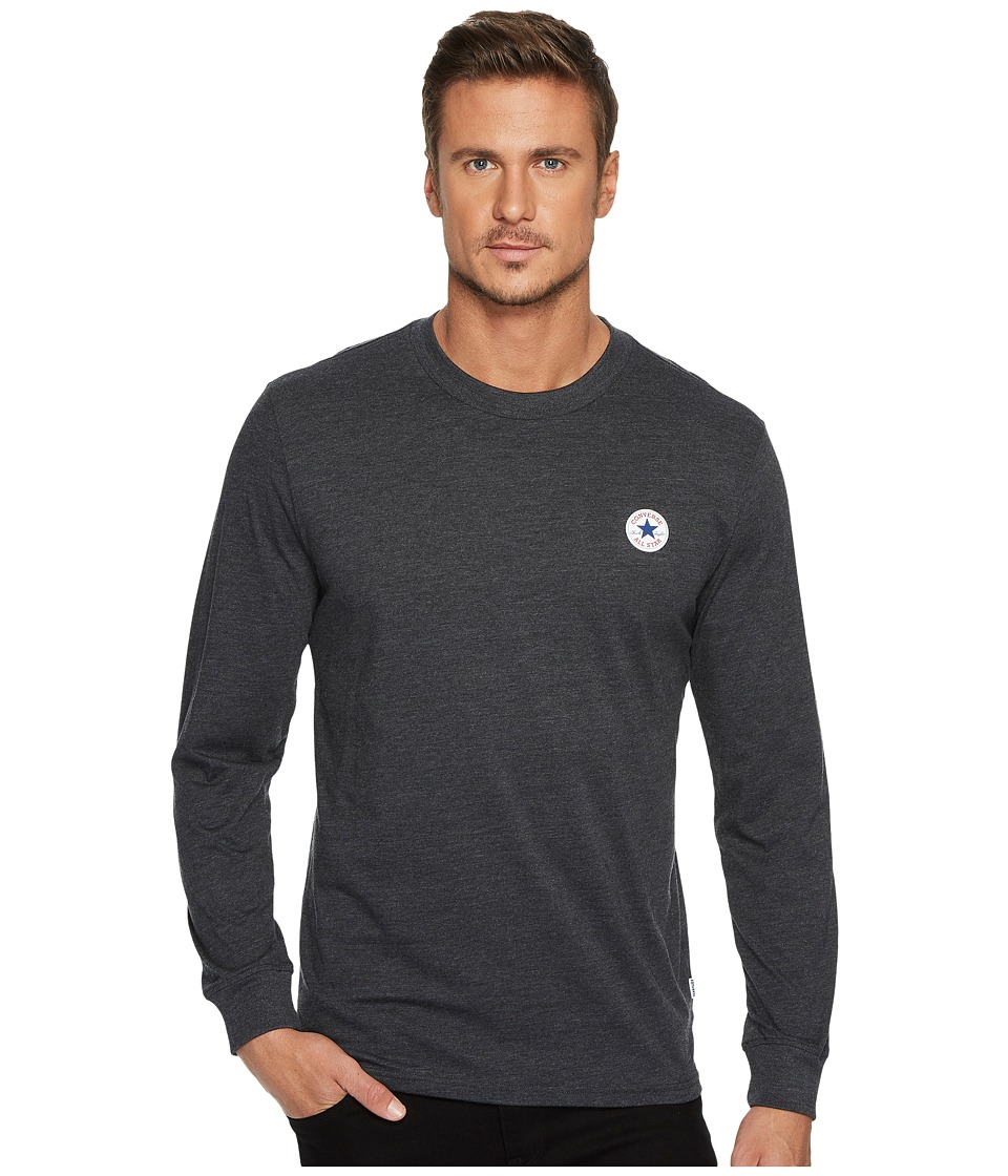 Converse Long Sleeve TPU Chuck Patch Tee (Black) Men