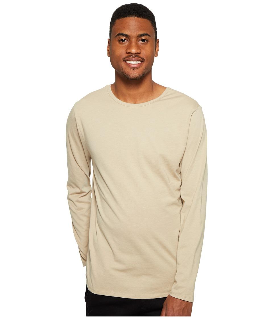 4Ward Clothing - Long Sleeve Jersey Shirt - Reversible Front/Back (Oatmeal) Boys T Shirt